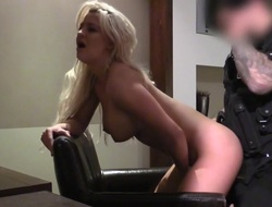 Sienna in Hotel Room Blonde Surprise Be beneficial to Copper - FakeCop