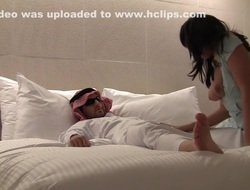 German milf and her pinch pennies in a hotel