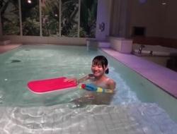 Unreasonable Japanese model Karen Haruki in Amazing college, showers JAV movie