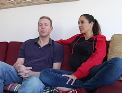 Milf and her husband talk to intercourse in hd porn video
