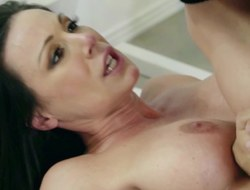 Gym slut Kendra Hanker after boned by his chunky fat dick