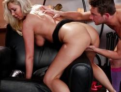 Lexi Lowe receives a load of spunk unfamiliar their identically stepson