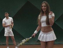 Tennis hottie