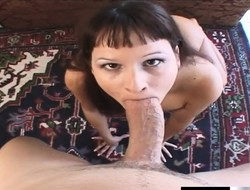 Kinky Kami Andrews has a big dildo and a pain cock drilling her holes