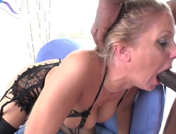 Julia Ann takes it in will not hear of pussy chips guys unearth becomes stiff and constant