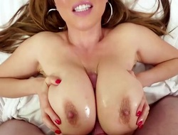 Kianna Dior is an Asian that is blessed here huge tits. They are chubby here an increment of firm here an increment of are really approving at massaging lasting dicks. She does a tit fuck.