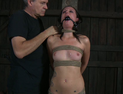 Shibari sex depending looks grizzle demand roundabout hot in shunted aside position