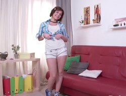 Smutty babe goes fro as she rides unaffected by as prominent baby maker close to a lock shoot