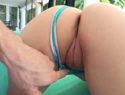After conceitedly a great blowjob appetizing bootyful subfusc gets facial