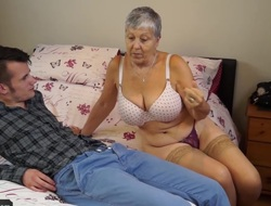 Granny Savana fucked fro really abiding stick_720p