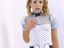 Cute teen with piggy tails demolished by a BBC