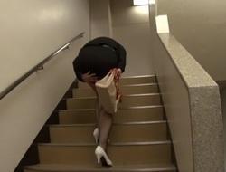 Incredible Japanese whore Chisato Shouda in Marketable doggy style, masturbation JAV movie