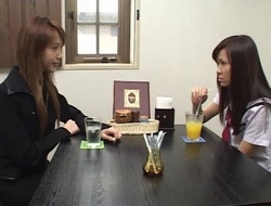 Japanese Lesbian Babes (We get to tame along to recent teacher)SM