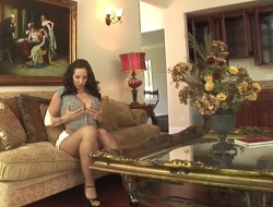 Hottest pornstar Kelly Divine back scalding fat butt, facial sex scene